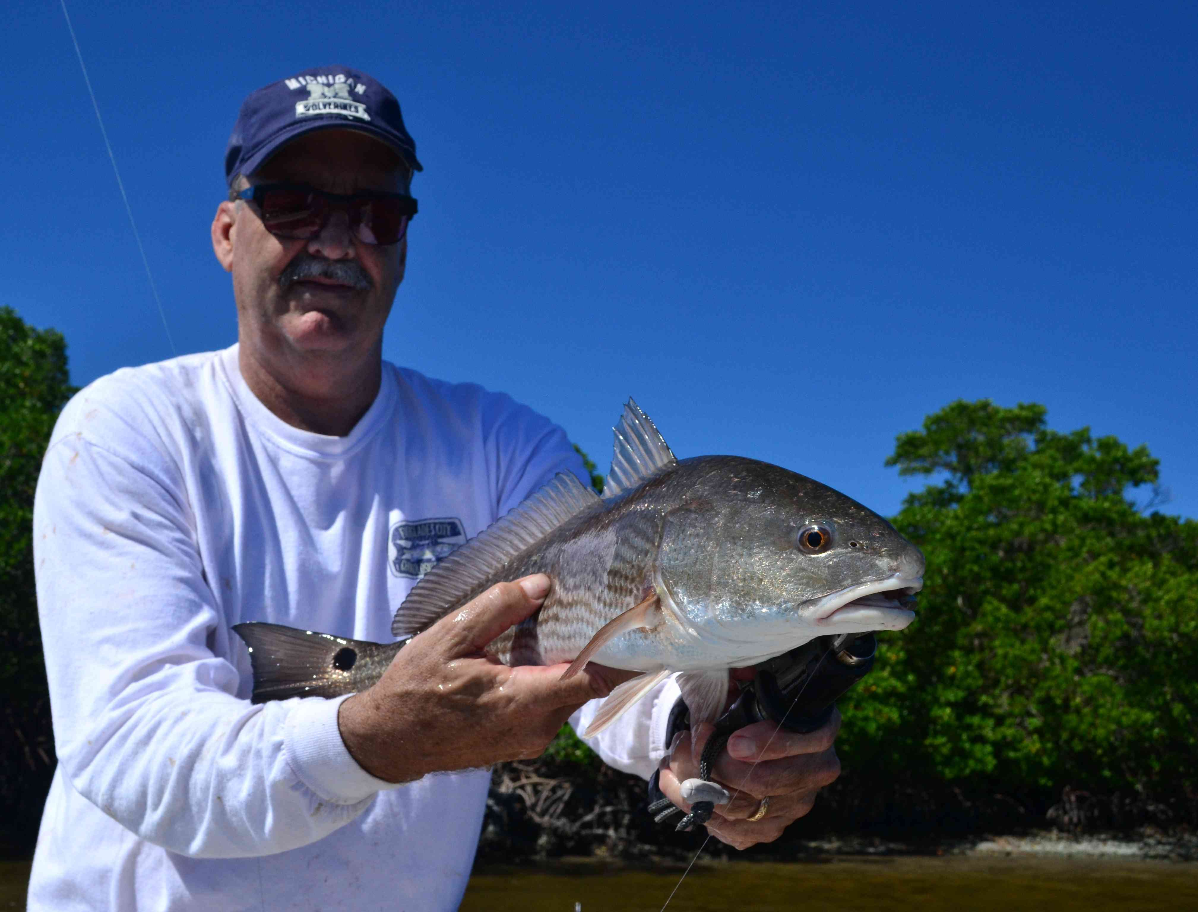 Guides day off miami fishing reports for Everglades fishing guide